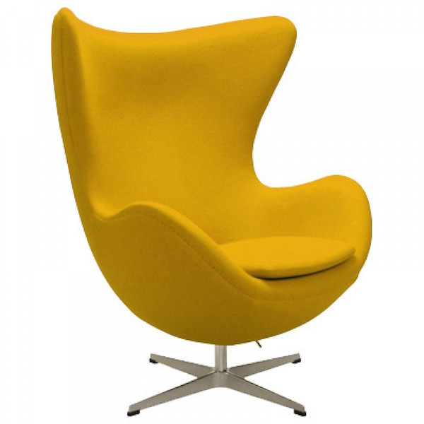 egg_chair_yellow - Silla Egg