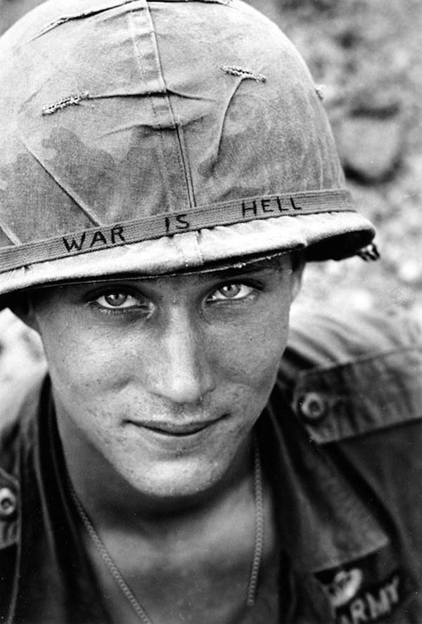 Soldado norteamericano, Vietnam, 1965