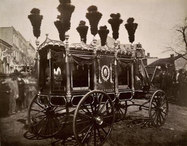 Carroza fúnebre de Abraham Lincoln, 1865