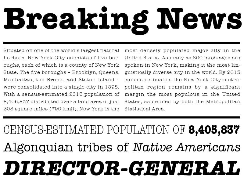 3 típicas tipografías que no son Helvética ni Times New Roman
