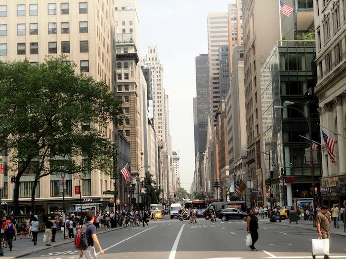 5ª avenida, Nueva York.