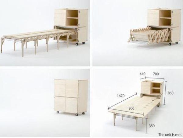 15 sorprendentes dise os de muebles m viles - Muebles inteligentes ...