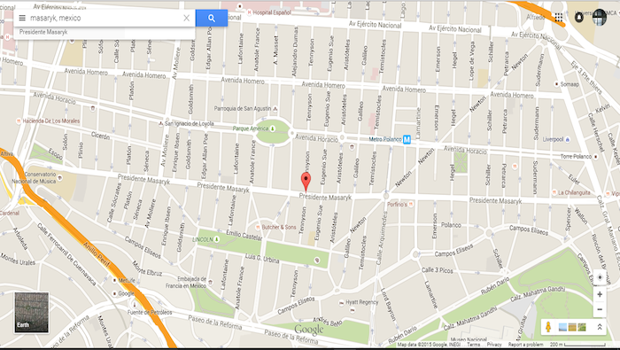 Masarik Google Maps