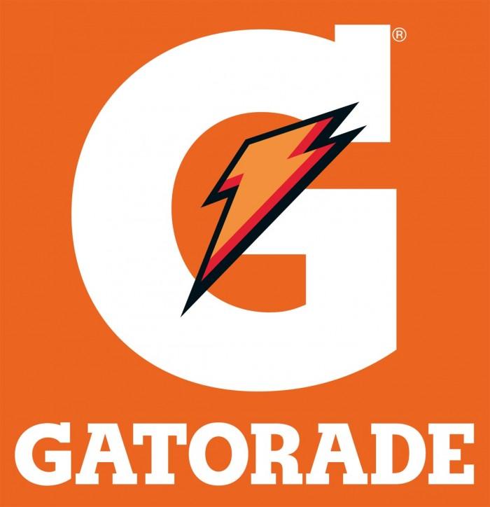 Logo Gatorade G em branco