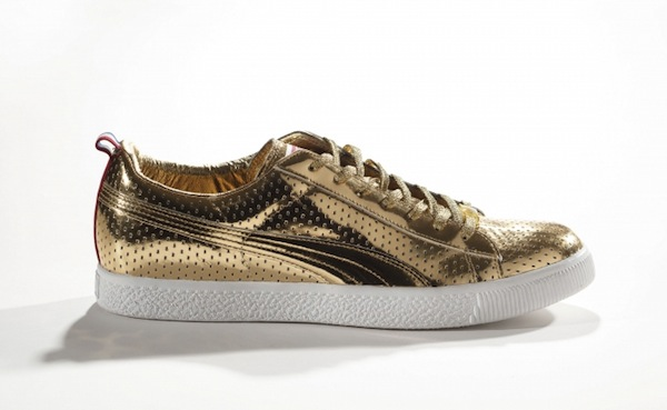 PUMA x Undefeated. Clyde Gametime Gold, 2012