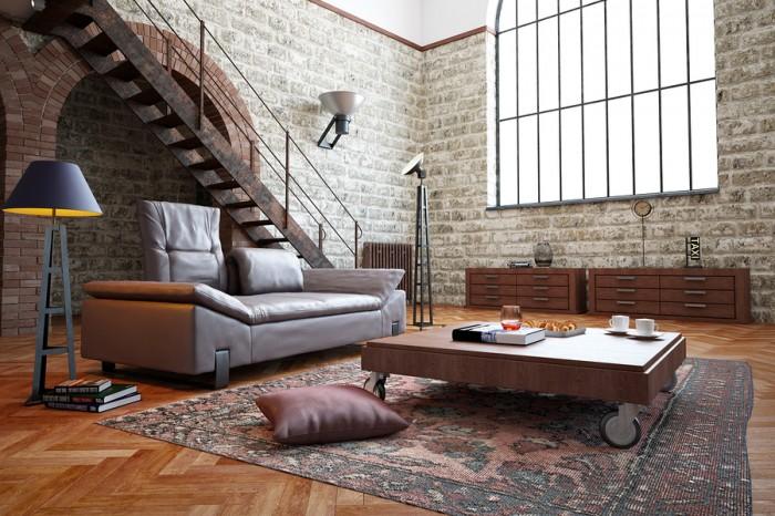Diseño de interiores: 10 elementos del estilo loft | paredro.com