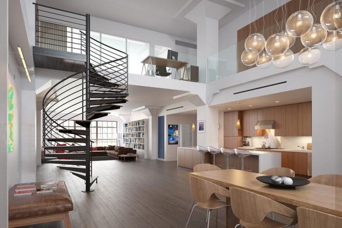 Dise o de interiores 10 elementos del estilo loft for Estilo moderno diseno de interiores caracteristicas