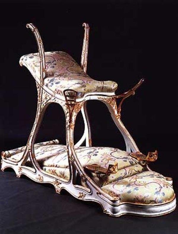 Silla creada para Edward VII