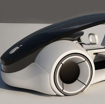 Supuesto prototipo de Titan de Apple