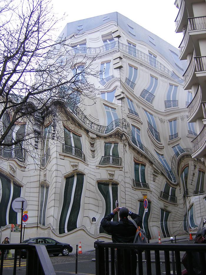 FOTO Edificio Hausmannian en París