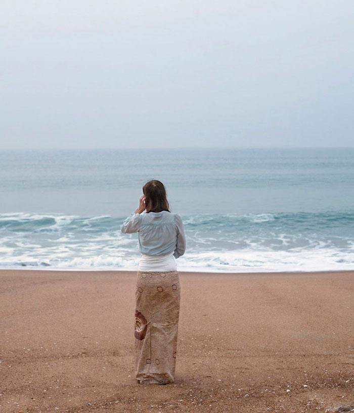 FOTO Ropa a juego con la playa