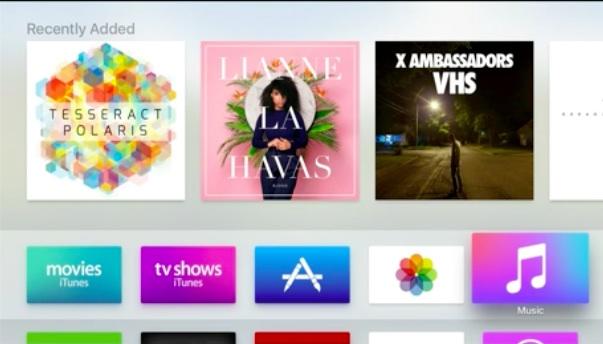 appletv interface