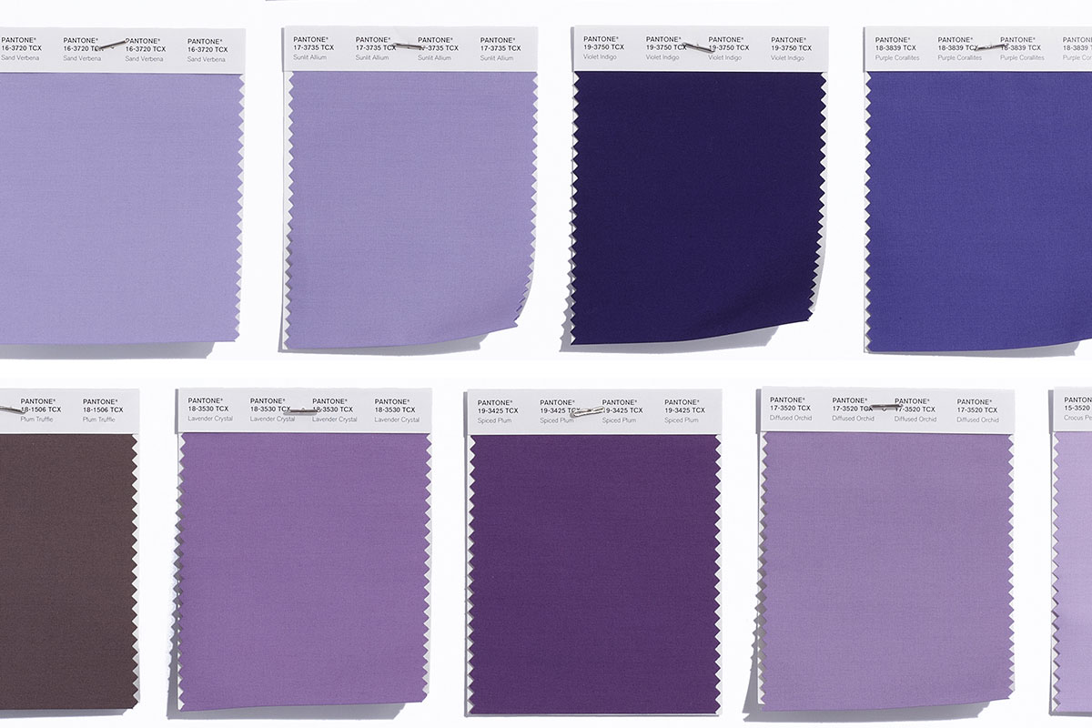 Cu l es el color m s complejo seg n pantone - Gama de colores morados ...