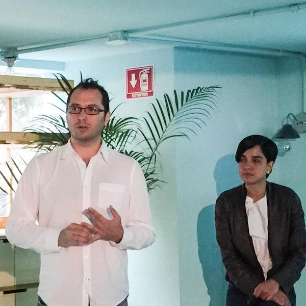 Emiliano Gofoy y Renata Becerril