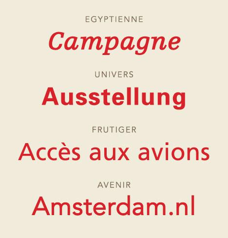 Tipografías creadas por Adrian Frutiger.
