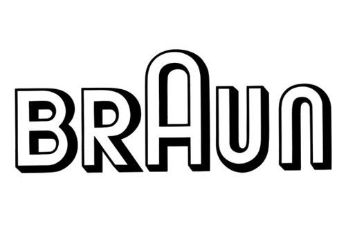 Evolución del logo de Braun: 1934