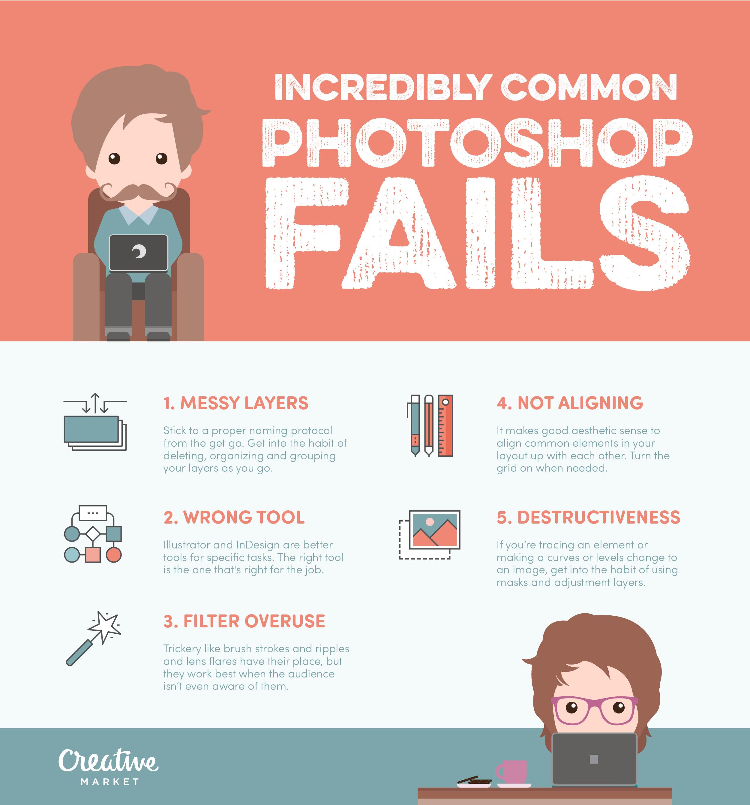 Photoshop errores