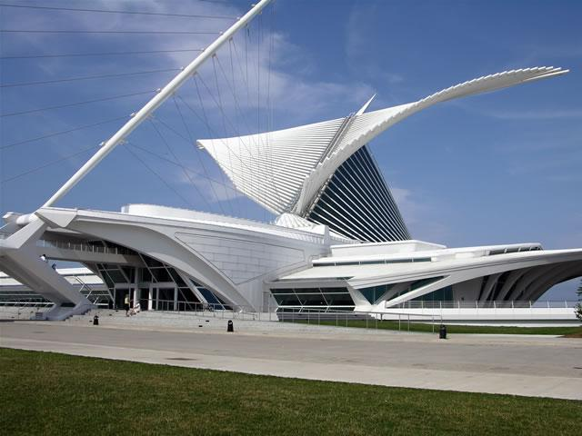 SANTIAGO CALATRAVA Museo de Arte de Milwaukee
