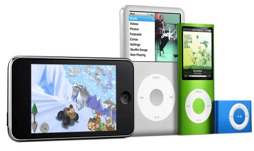 Familia de iPod