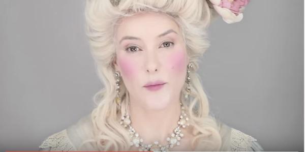 maquillaje de epoca