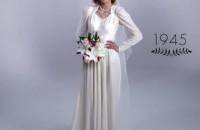 Así ha evolucionado el vestido de novia en 100 años