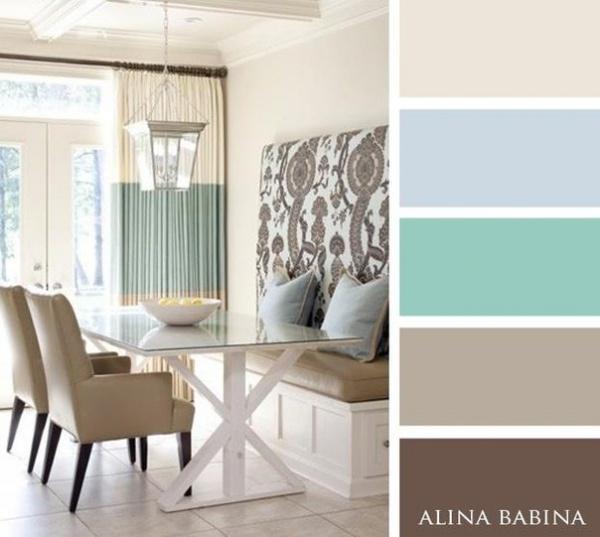 Dise o de interiores 15 paletas de colores que for Diseno de interiores y marketing