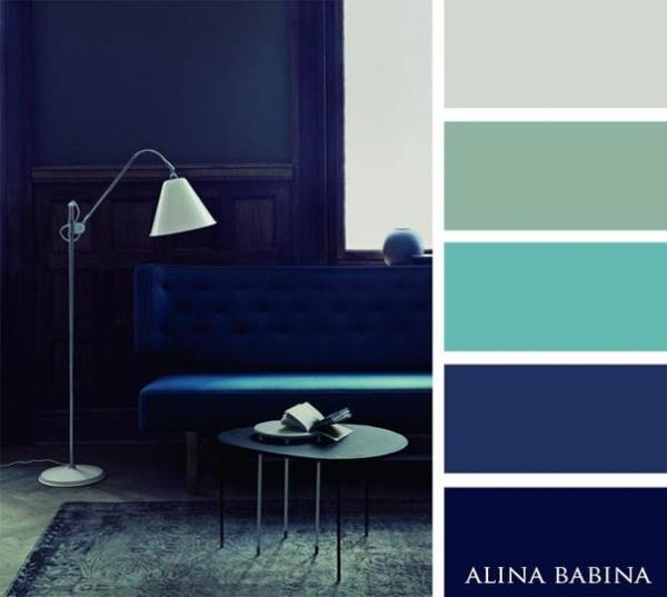 Dise o de interiores 15 paletas de colores que for Diseno de ambientes interiores