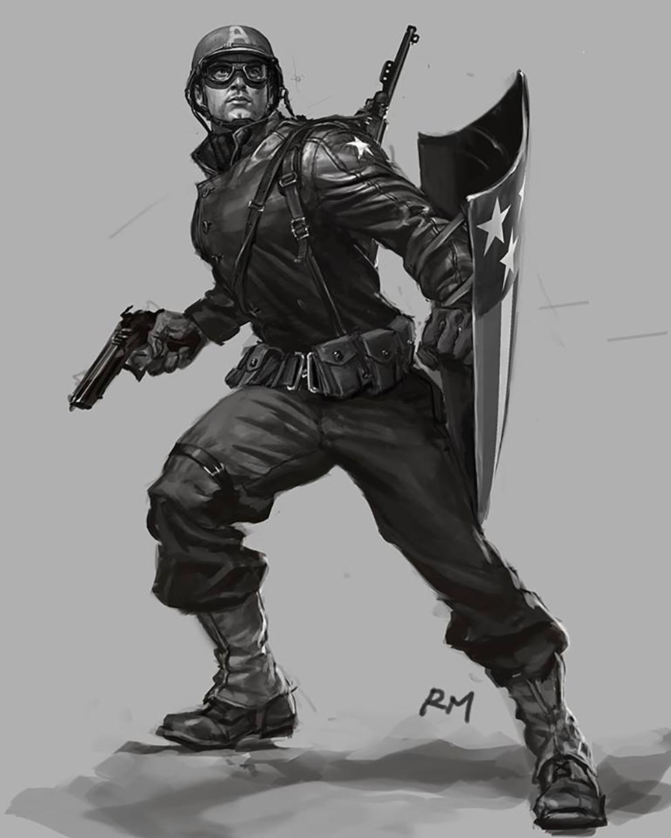 Capitan America: the first Avenger
