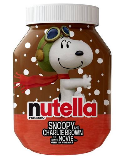NUTELLA-SNOOPY