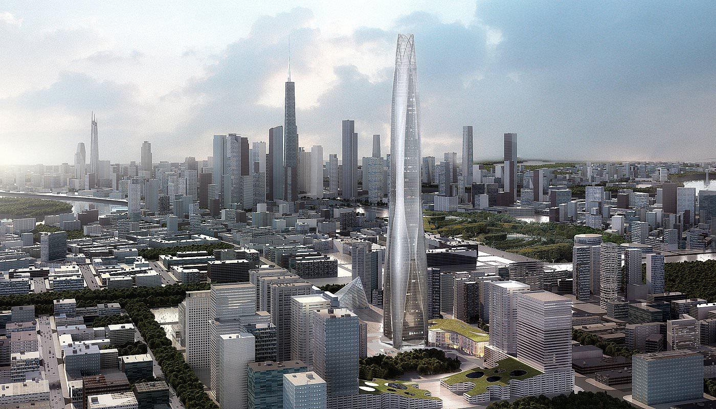 rascacielos CTF Finance Centre