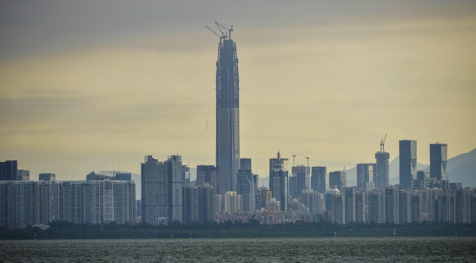 rascacielos Ping An Finance Center