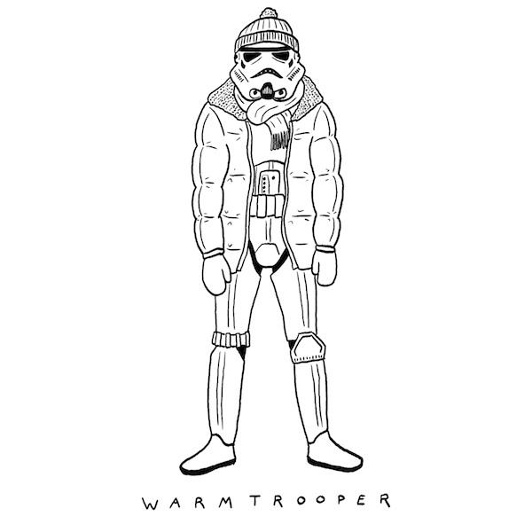 stormtroopers warm