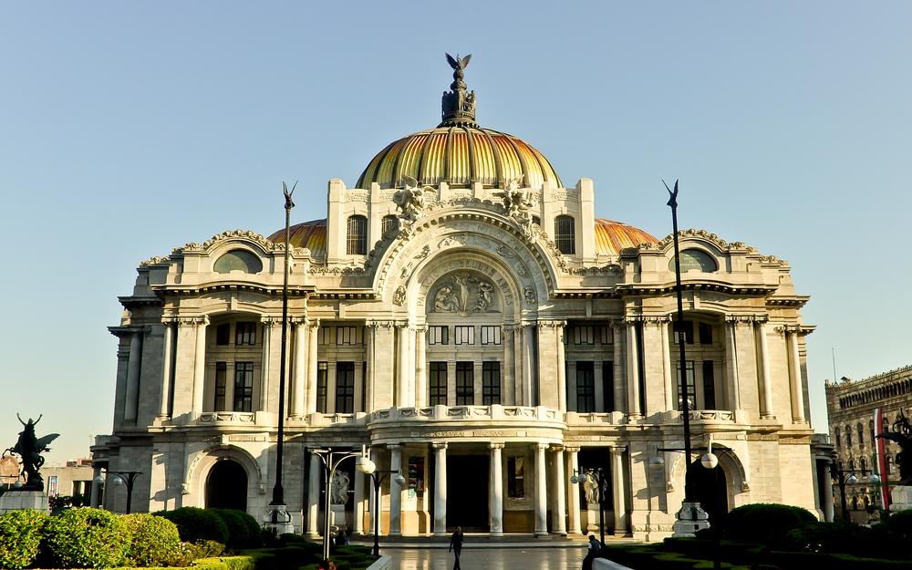El palacio de bellas artes de m xico conjunta estilos for Arquitectura 7 bellas artes