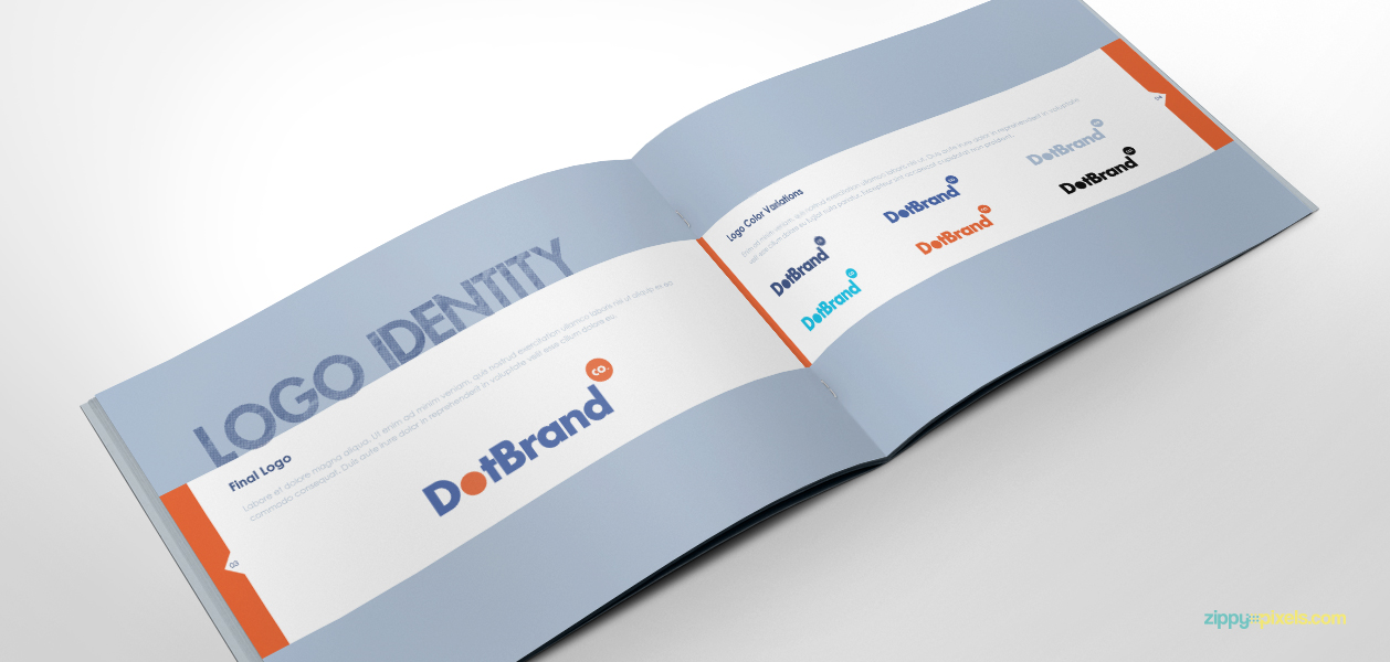 Plantilla gratis:realiza un manual de identidad corporativa ...