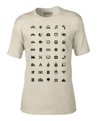 playera pictogramas