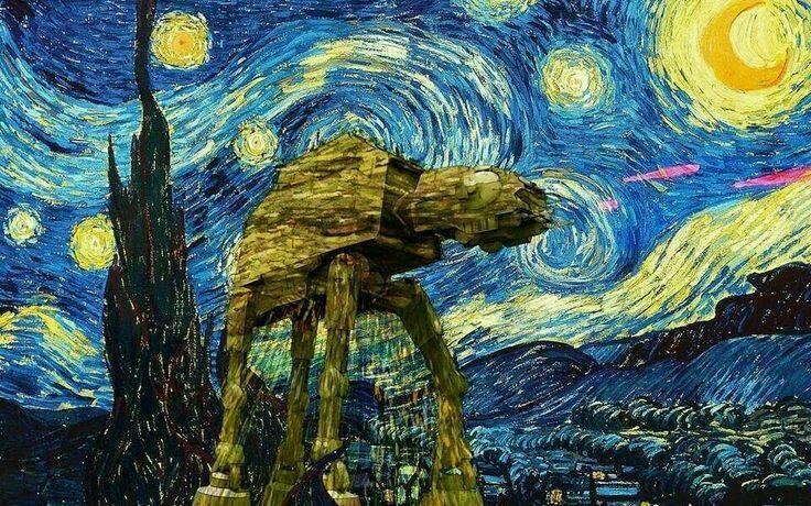 Agarre intercambiable para Tel/éfonos y Tabletas Van Gogh Noche Estrellada Famoso Arte Elegante Dise/ño PopSockets PopGrip