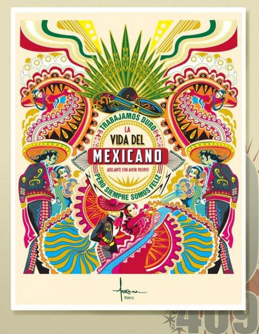 Calendar Design Brief : Elementos que distinguen el diseño gráfico mexicano