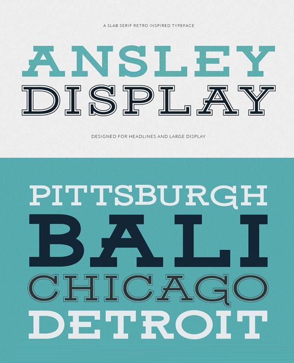 Ansley_Display_free_font