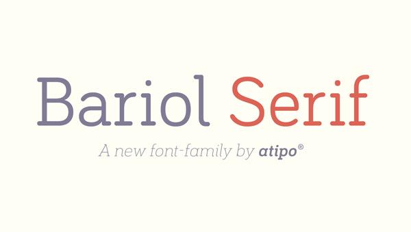 Bariol_Serif_free_font