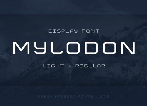 Mylodon_free_font