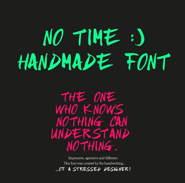 NO_TIME_free_font