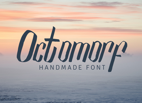 Octomorf_free_font