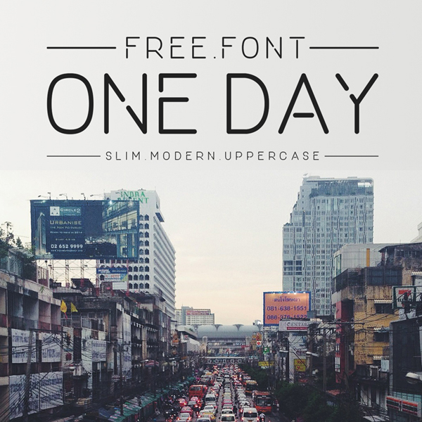 One_Day_free_font
