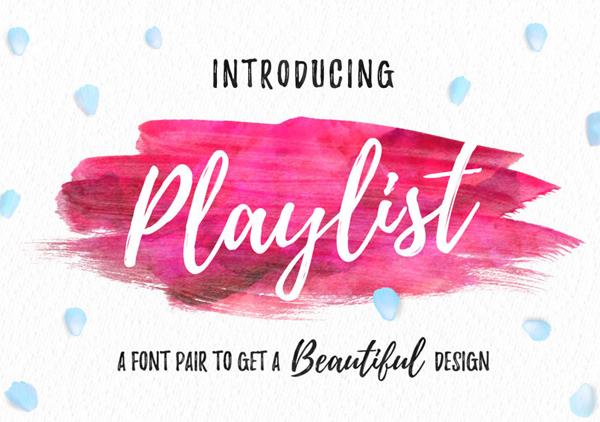 Playlist_free_font
