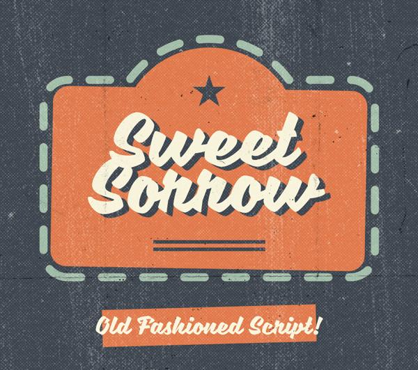 Sweet+Sorrow+free+font