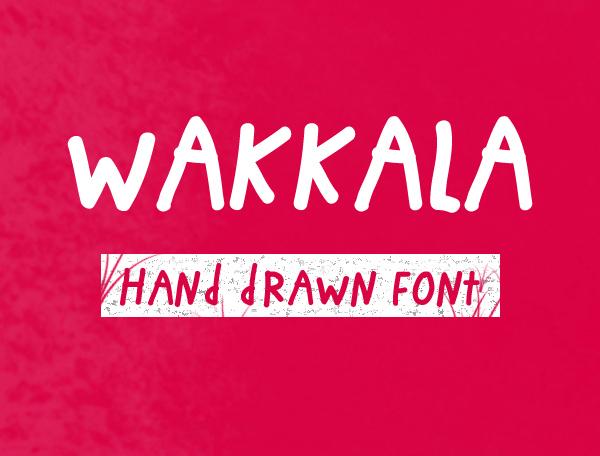 Wakkala_Free_Font