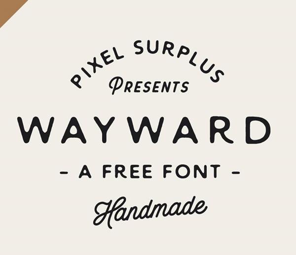 Wayward+free+fonts
