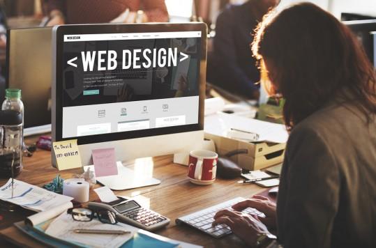 Web Design Internet Website Responsive Software Concept