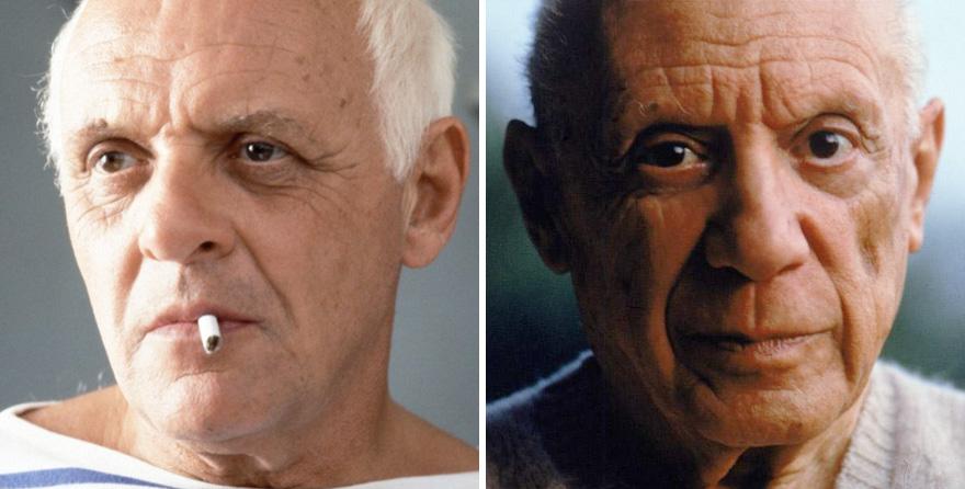Anthony Hopkins como Pablo Picasso