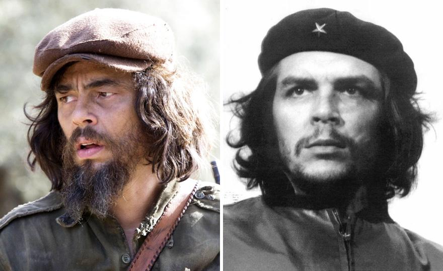 Benicio del Toro como Ernesto Che Guevara